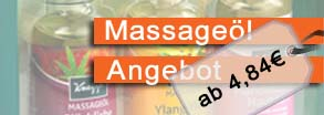 Angebot Massageöl